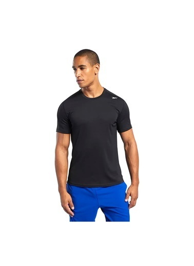 Reebok Workout Ready Polyester Tech T-Shırt Siyah